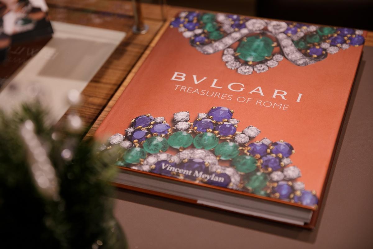 Коктейль в салоне DA VINCI, посвященный BVLGARI