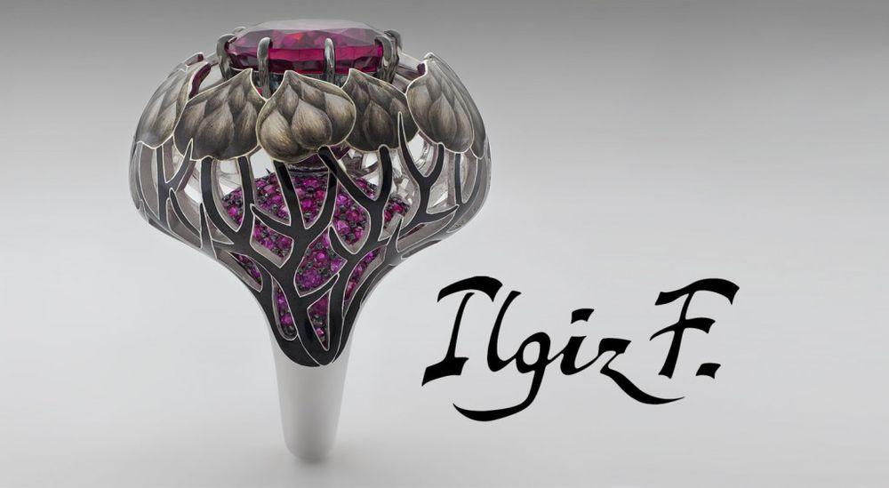 Драгоценная коллекция Ilgiz F в бутике Da Vinci